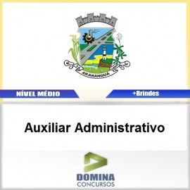 Apostila Araranguá SC 2017 Auxiliar Administrativo