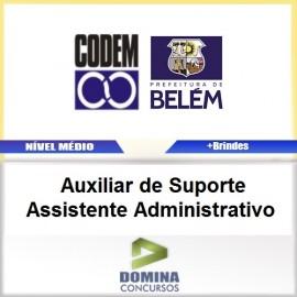 Apostila CODEM 2017 AUX de SUP Assistente ADM