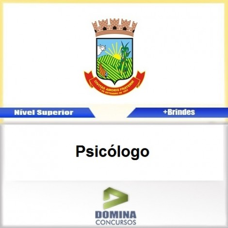 Apostila Concurso Teófilo Otoni MG 2017 Psicólogo