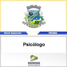 Apostila Concurso Araranguá SC 2017 Psicólogo