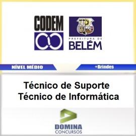 Apostila CODEM 2017 TEC de Suporte TEC Informática
