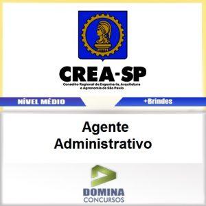 Apostila CREA SP 2017 Agente Administrativo PDF