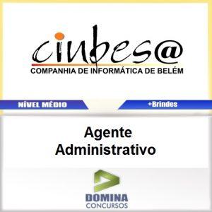 Apostila CINBESA 2017 Agente Administrativo PDF