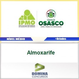 Apostila IPMO Osasco SP 2017 Almoxarife Download