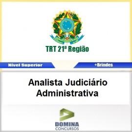 Apostila TRT 12 SC 2017 Analista Judiciário Administrativa