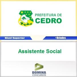 Apostila Cedro GO 2017 Assistente Social Download