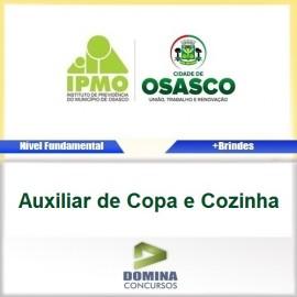 Apostila IPMO Osasco SP 2017 AUX Copa e Cozinha