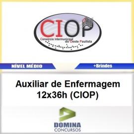 Apostila CIOP 2017 AUX de Enfermagem 12x36h CIOP
