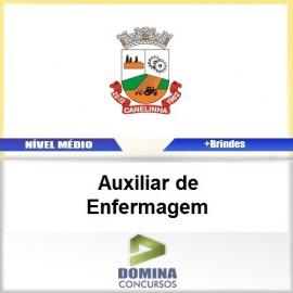 Apostila Canelinha SC 2017 Auxiliar de Enfermagem