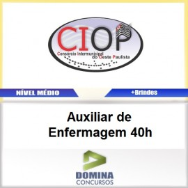 Apostila CIOP 2017 Auxiliar de Enfermagem 40h