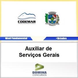 Apostila CODEMAR RJ 2017 Auxiliar de Serviços Gerais