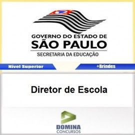 Apostila SEE SP 2017 Diretor de Escola Download PDF