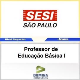 Apostila SESI SP 2017 Professor de Educação Básica I
