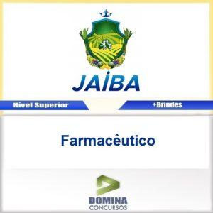 Apostila Concurso Jaíba MG 2017 Farmacêutico