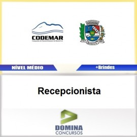Apostila CODEMAR RJ 2017 Recepcionista PDF