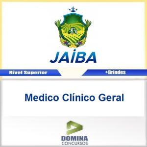 Apostila Concurso Jaíba MG 2017 Medico Clínico Geral