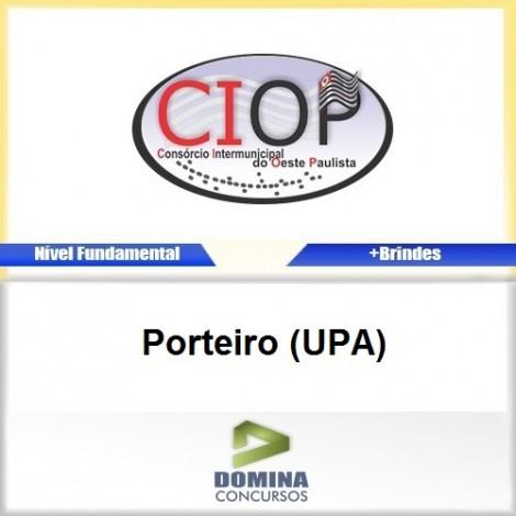 Apostila Concurso CIOP 2017 Porteiro UPA Download