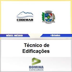 Apostila CODEMAR RJ 2017 Técnico de Edificações