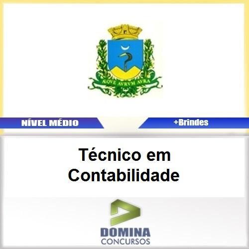 Apostila Caconde SP 2017 Técnico em Contabilidade