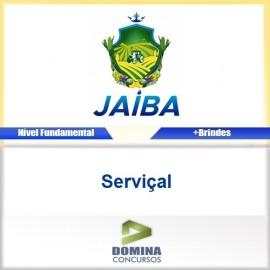 Apostila Concurso Jaíba MG 2017 Serviçal