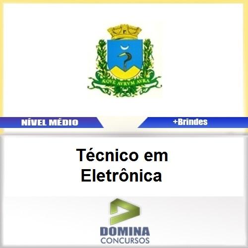 Apostila Caconde SP 2017 Técnico em Eletrônica