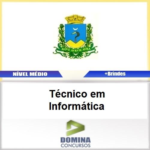Apostila Caconde SP 2017 Técnico em Informática
