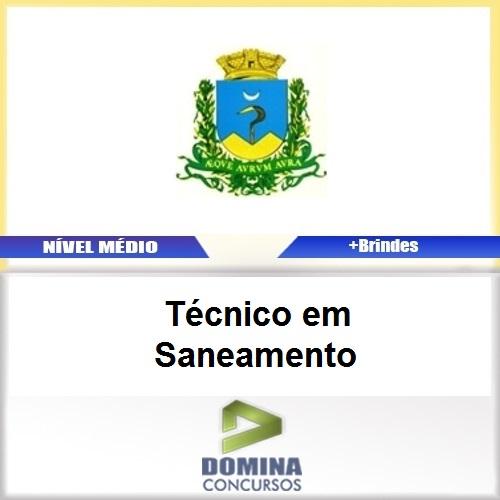 Apostila Caconde SP 2017 Técnico em Saneamento