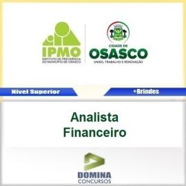Apostila IPMO Osasco SP 2017 Analista Financeiro