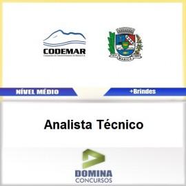 Apostila Concurso CODEMAR RJ 2017 Analista Técnico