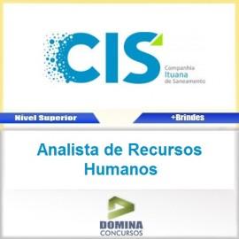 Apostila CIS 2017 Analista de Recursos Humanos