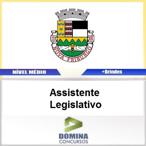 Apostila Nova Fraiburgo RJ 2017 Assistente Legislativo