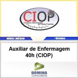 Apostila CIOP 2017 Auxiliar Enfermagem 40h CIOP
