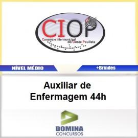 Apostila CIOP 2017 Auxiliar de Enfermagem 44h
