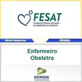 Apostila Concurso FESAT MS 2017 Enfermeiro Obstetra