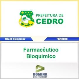 Apostila Cedro GO 2017 Farmacêutico Bioquímico