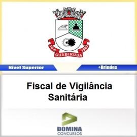 Apostila Guabiruba SC 2017 Fiscal de Vigilância Sanitária