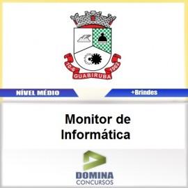 Apostila Guabiruba SC 2017 Monitor de Informática