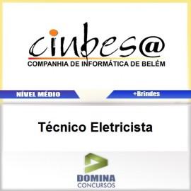 Apostila Concurso CINBESA 2017 Técnico Eletricista