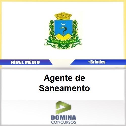 Apostila Caconde SP 2017 Agente de Saneamento
