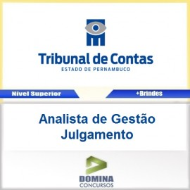 Apostila TCE PE 2017 Analista de Gestão Julgamento