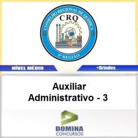 Apostila CRQ V 2017 Auxiliar Administrativo 3