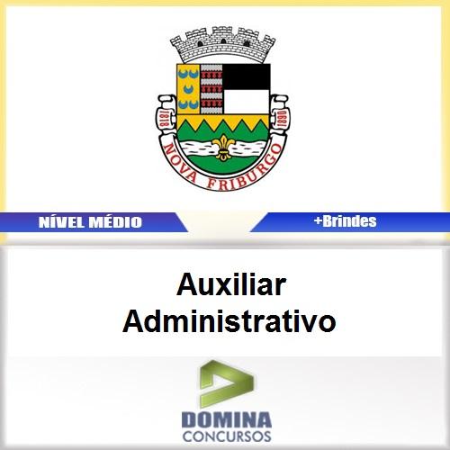 Apostila Nova Fraiburgo RJ 2017 Auxiliar Administrativo