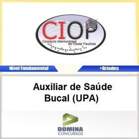 Apostila CIOP 2017 Auxiliar de Saúde Bucal UPA