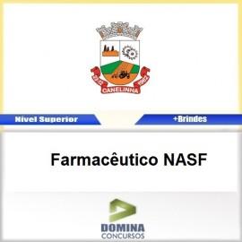 Apostila Canelinha SC 2017 Farmacêutico NASF