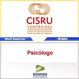 Apostila Concurso CISRU 2017 Psicólogo Download