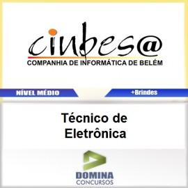 Apostila Concurso CINBESA 2017 Técnico de Eletrônica