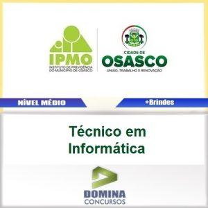 Apostila IPMO Osasco SP 2017 Técnico em Informática
