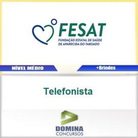 Apostila Concurso FESAT MS 2017 Telefonista PDF