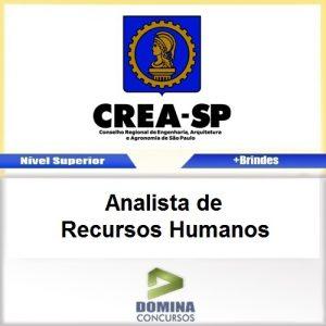 Apostila CREA SP 2017 Analista de Recursos Humanos