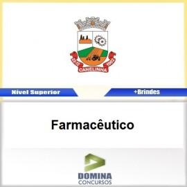 Apostila Concurso Canelinha SC 2017 Farmacêutico